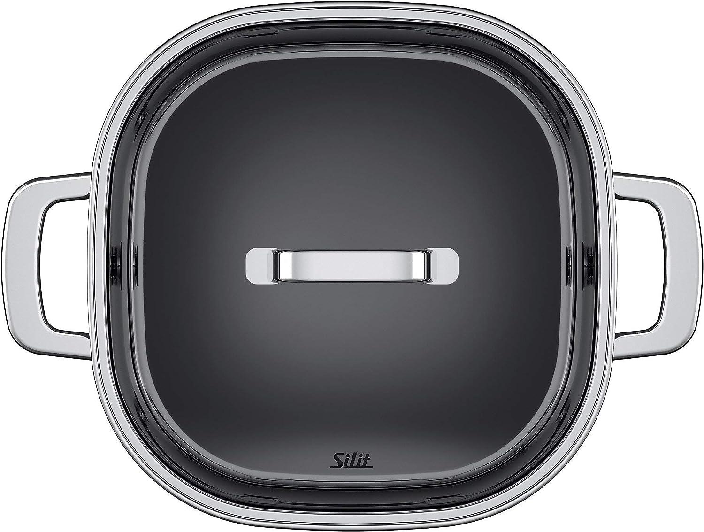 Silit 2120270584 Autocuiseur sans Panier Acier Inoxydable Argent 22 cm