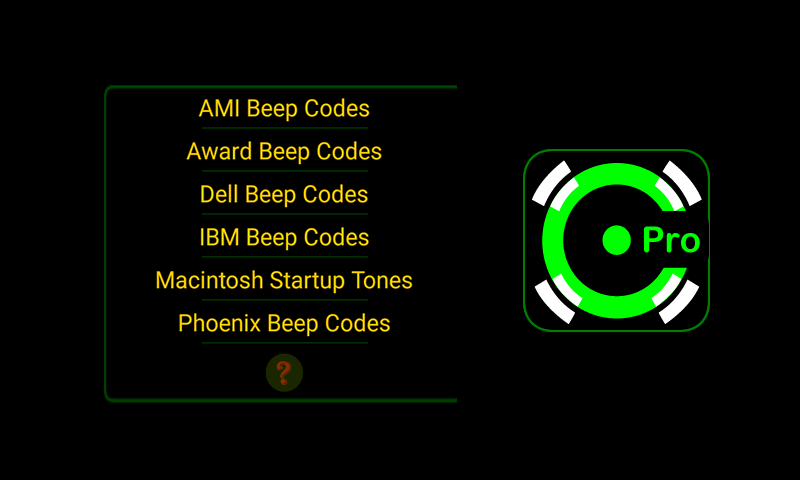 Bios Beep Codes Pro: Amazon ca: Appstore for Android