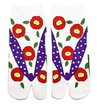 "Tabi calcetines ""Nemophilia japonés Split 2 par Toe Ninja Geta Flip Flop Sandalia calcetines"