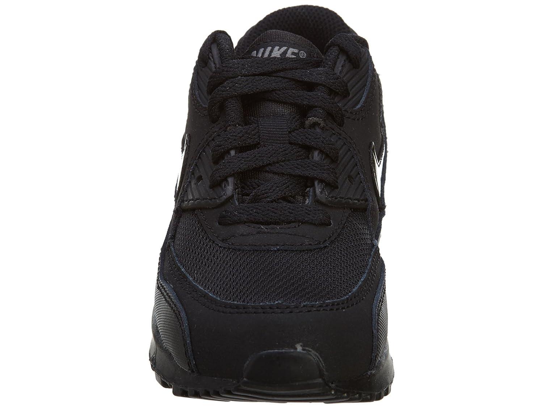 Nike Kids Air Max 90 Mesh (GS) BlackBlackCool Grey Running
