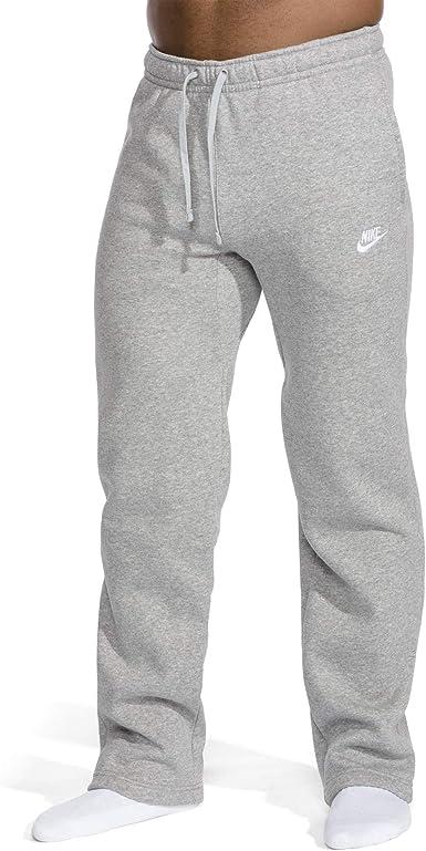 Amazon Com Nike Pantalones Deportivos Para Hombre Con Dobladillo Abierto Gris Xxxl Alto Clothing