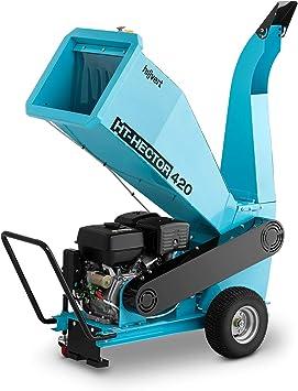 hillvert Trituradora De Madera a Gasolina Triturador De Jardín HT-HECTOR 420 (Velocidad Giro: 3.600 rpm, Potencia Máx. Motor: 15 PS, Diámetro Máx. Corte: 100 mm: Amazon.es: Bricolaje y herramientas