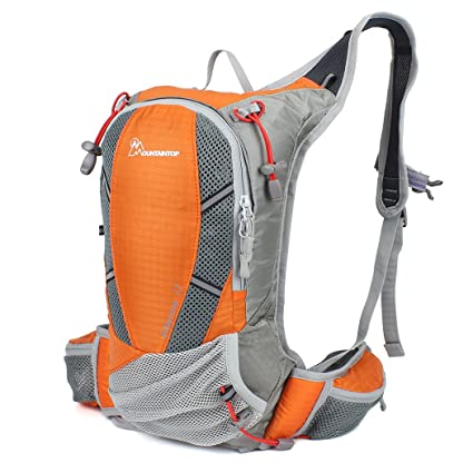 e453bb8a36 MOUNTAINTOP Hiking Hydration Pack Backpack Cycling Running Bicycle Walking  Climbing Camping Biking Bag