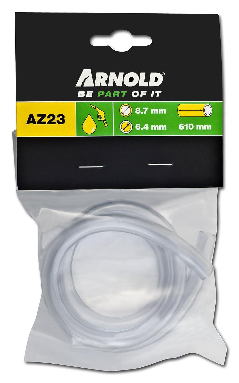 Innen 6.4 cm Arnold 3091-U1-0035 Kraftstoffschlauch L/änge 60 cm Au/ßen 8.7 cm