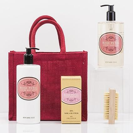Natures cestas rosa manos bolsa de regalo - cumpleaños ...