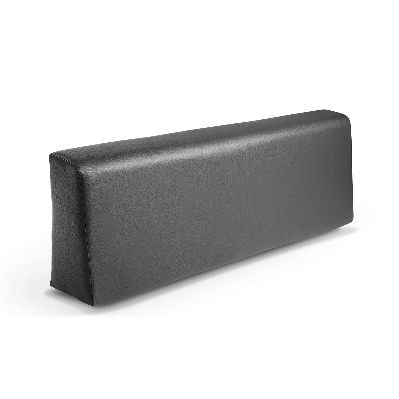 Respaldo colchoneta para sofas de palet color Ceniza (1 x Unidad) Cojin relleno con espuma | Cojines para chill out, interior y exterior, jardin | No ...