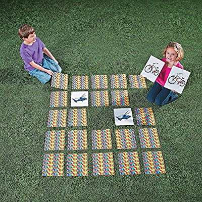 Fun Express Giant Matching Game - 48 Pieces - Educational and Learning Activities for Kids: Toys & Games