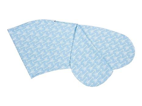 Fuerza Kids Lactancia almohada blanca flechas sobre azul ...