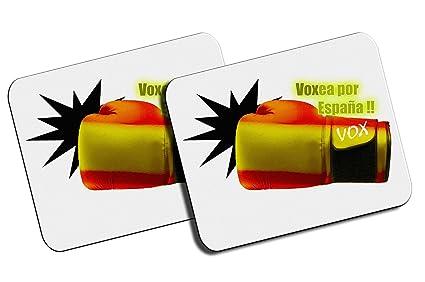 PACK 2 ALFOMBRILLAS PEQUEÑAS VOXEA POR ESPAÑA mousepad raton ...