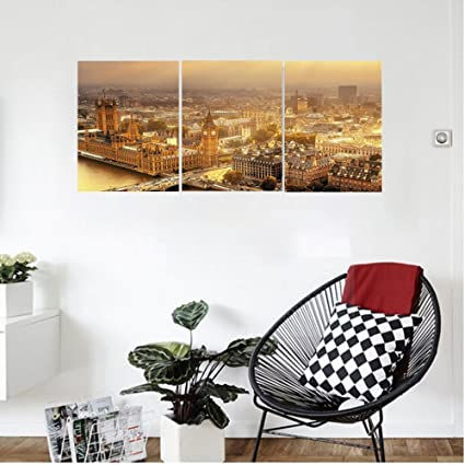 Amazon Com Liguo88 Custom Canvas Fabric Wall Hanging Westminster