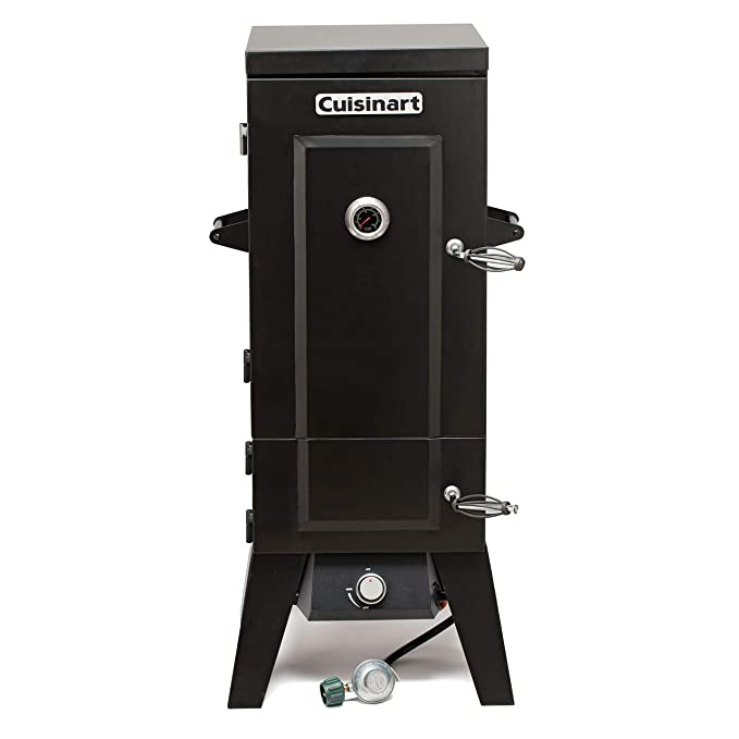 "Cuisinart COS-244 Vertical 36"" Propane Smoker – Best Medium-Sized Smoker"