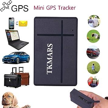 GPS Tracker Seguimiento GPS 2 Tiempo de Boca en Reposo, Mini ...
