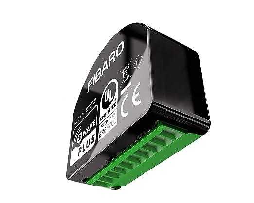 Fibaro FGS-213 Switch 2, Negro