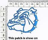 Head Pitbull Bulldog Dog Pet Design Cartoon Chidren Kids Embroidren Iron Patch/Logo Sew On Patch Clothes Bag T-Shirt Jeans Biker Badge Applique