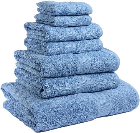 Satin Stripe Luxury 100/% Egyptian Cotton Towels 500GSM Super Soft /& Absorbent NZ