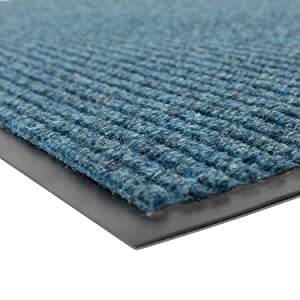 Notrax 109 Brush Step Entrance Mat, for Home or Office, 3' X 5' Slate Blue