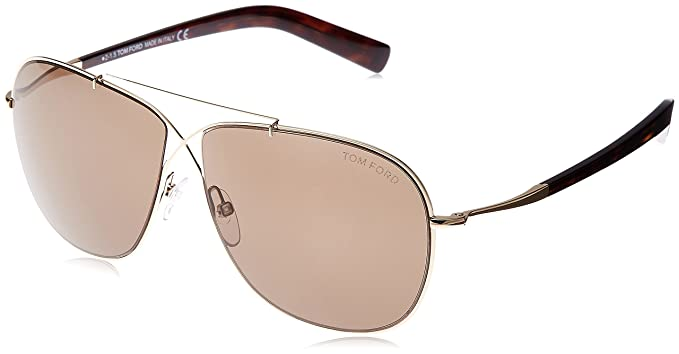 a24d89ba49a Image Unavailable. Image not available for. Color  Tom Ford Aviator  Sunglasses - FT0393 28J ...