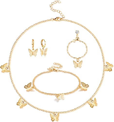 FREE Earrings BUTTERFLY CHOKER 2 Styles