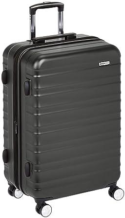 94d642884 AmazonBasics Premium Hardside Spinner Luggage with Built-In TSA Lock -  28-Inch,