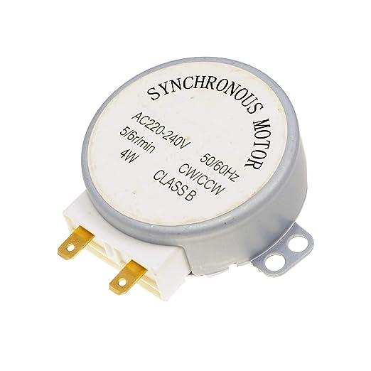 Horno microondas TYJ50-8A7 4 W 5/6 RPM 11 mm motor giratorio ...
