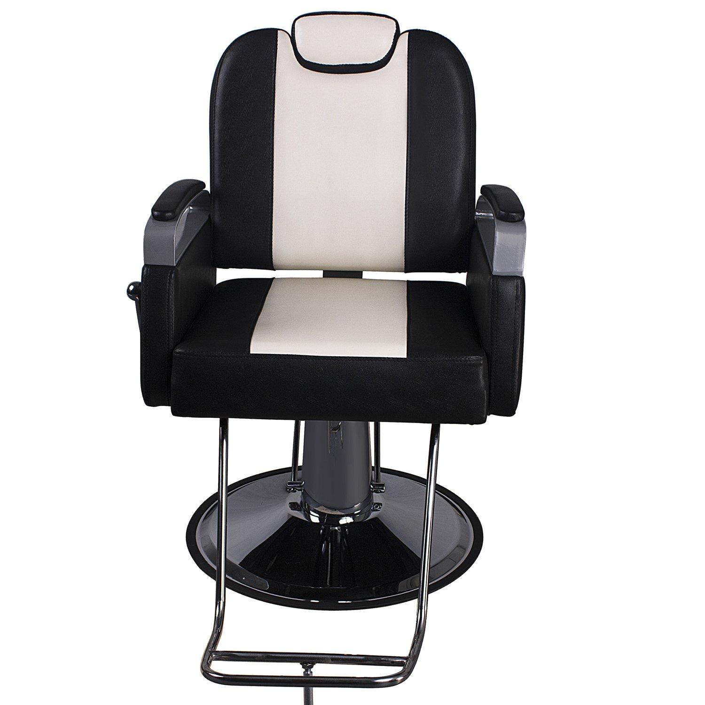 Amazon Walcut Classic Black & White Hydraulic 360° Swivel