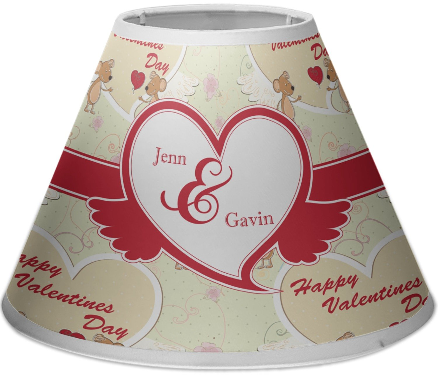 RNK Shops Mouse Love Empire Lamp Shade (Personalized)