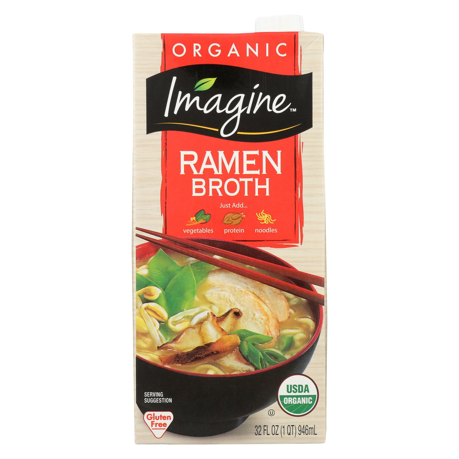 IMAGINE BROTH RAMEN ORG 32FO by Imagine