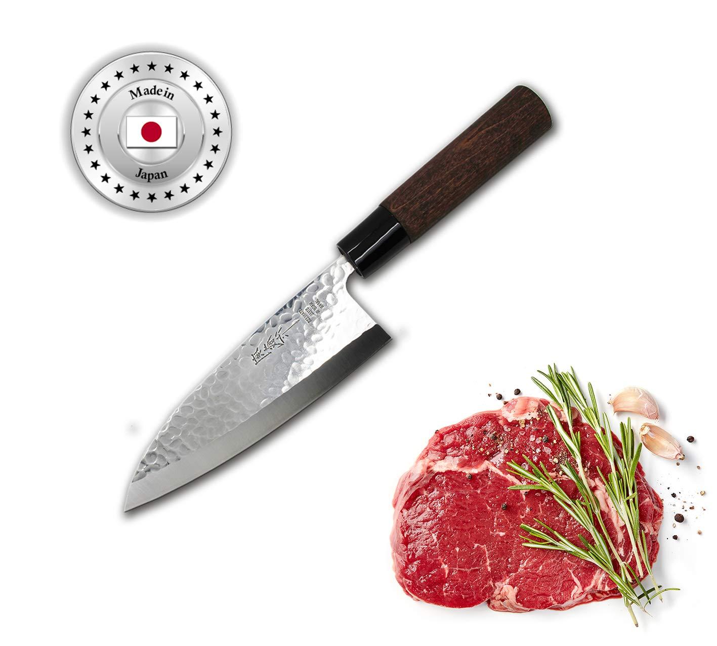 cuchillos de japon afilar chef cocina Deba japones