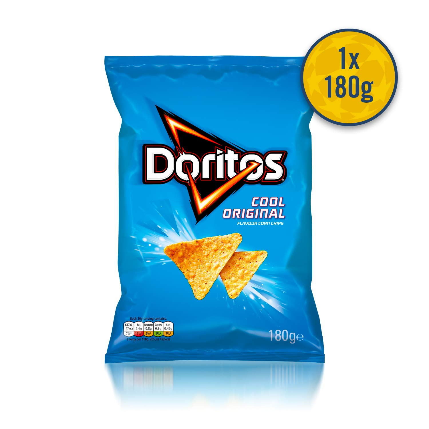 Walkers and Doritos UEFA Champions League Snacks Box