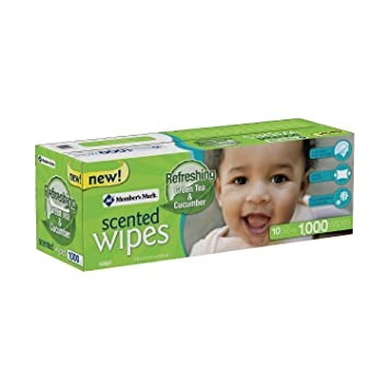 Members Mark Scented Baby Wipes, 1,000 ct.