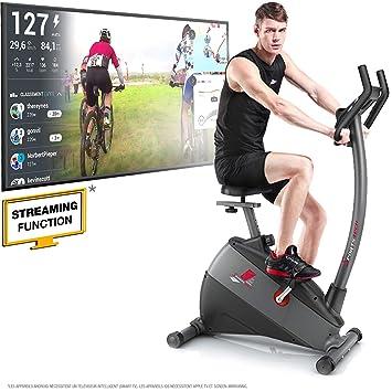 Sportstech - bicicleta estática con ergómetro ESX500 ,app para ...