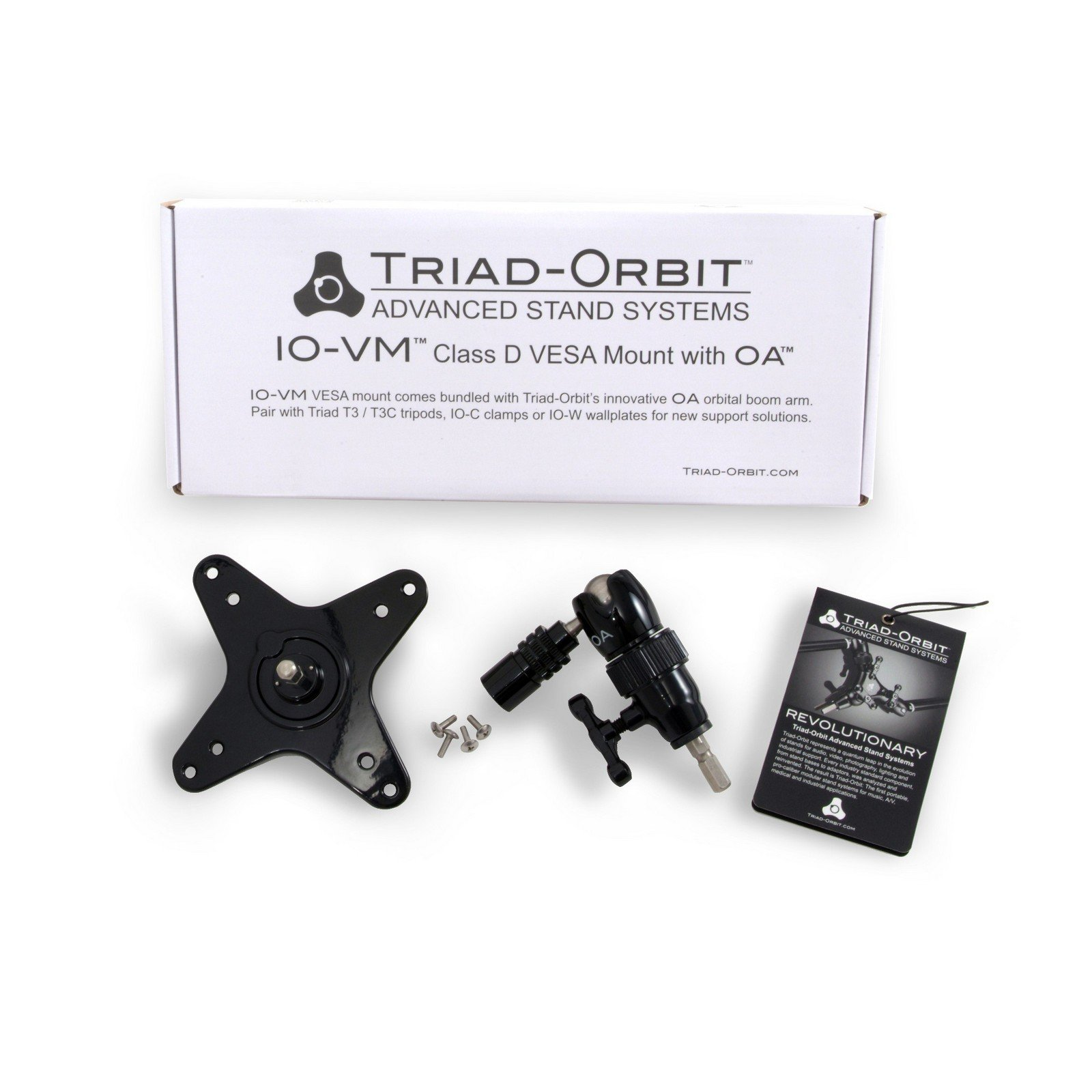 Triad Orbit IO-VM | MIS Class D VESA Video Display Mount