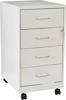 Hirsh Industries LLC 18  4 Drawer Steel File Cabinet in Pearl White  sc 1 st  Amazon.com & Amazon.com: Hirsh Industries 2 Drawer Steel File Cabinet in White ...