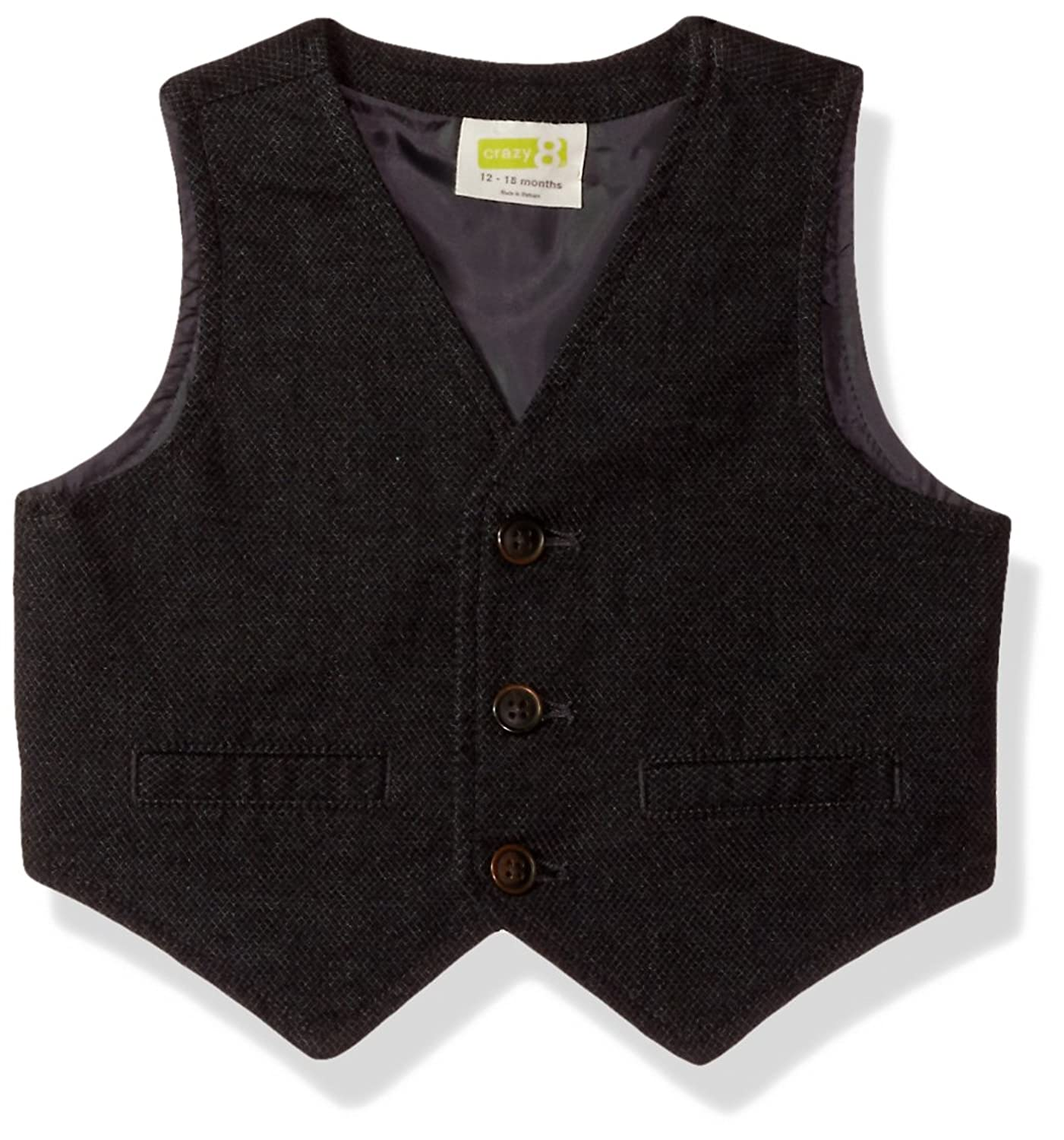 1920s Children Fashions: Girls, Boys, Baby Costumes Crazy 8 Toddler Boys Dressy Button Down Vest $24.88 AT vintagedancer.com