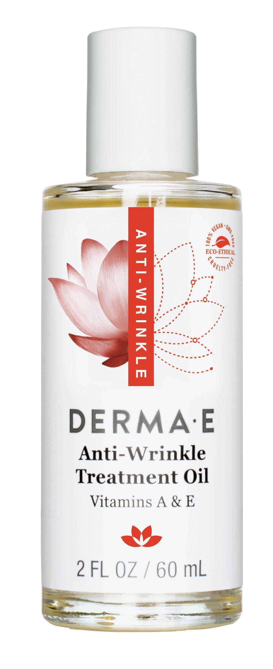 Derma E: Anti-Wrinkle Vitamin A & E Treatment Oil, 2 oz (Pack of 3)