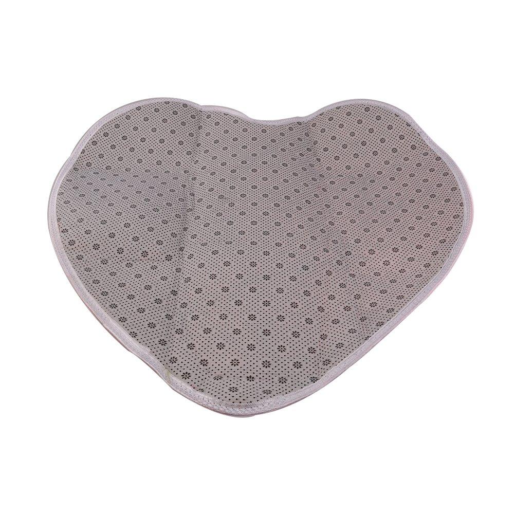 Pixnor Pavimento in moquette cuore morbido Design soffice tappetino tappeto camera da letto Faux Fur copertina decorazione 60 x 70 cm