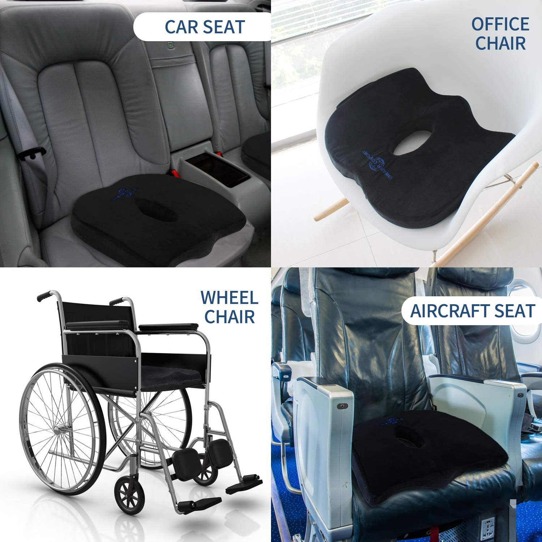 Memory Foam Seat Cushion – Car Seat Cushion