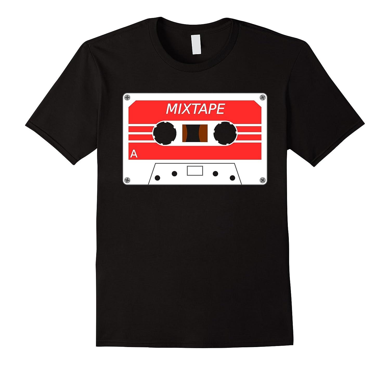 Mix Tape - Old School DJ Hip Hop and Rap Cassette T-Shirt-Art