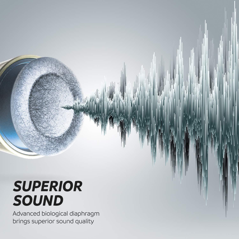 Truely Wireless Earbuds Headset Touch-Control Bluetooth 5.0 mit Mikrofon Bluetooth Kopfh/örer Kabellos In-Ear Ohrh/örer