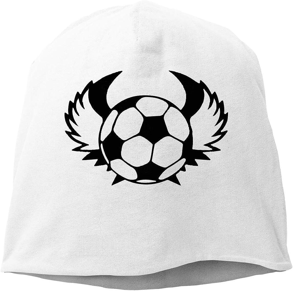 Winter Warm Knit Hat TLPM9LKMBM Soccer-1 Beanie Skull Cap for Women and Men