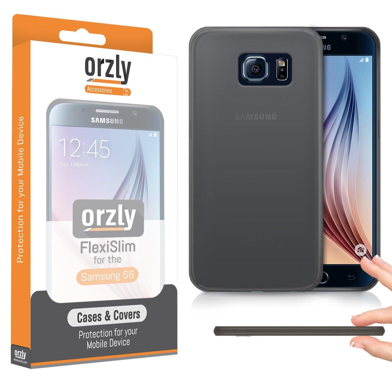 Orzly® - FlexiSlim Case for Samsung Galaxy S6: Amazon.es: Electrónica