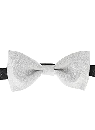 120ccb2c8e5c Zido Grey Bow Tie For Men BPL068_Grey: Amazon.in: Clothing & Accessories