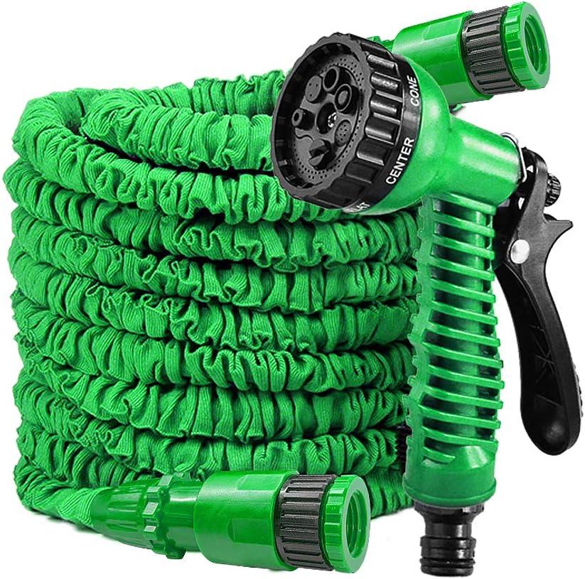 LARS360 - Manguera flexible de jardín extensible con ducha para casa y jardín para riego de césped: Amazon.es: Jardín