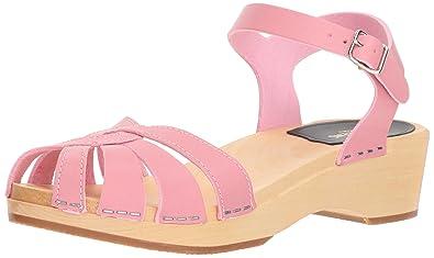 feac4bf886f Swedish Hasbeens Cross Strap Debutant, Women'sWedge Heels Sandals