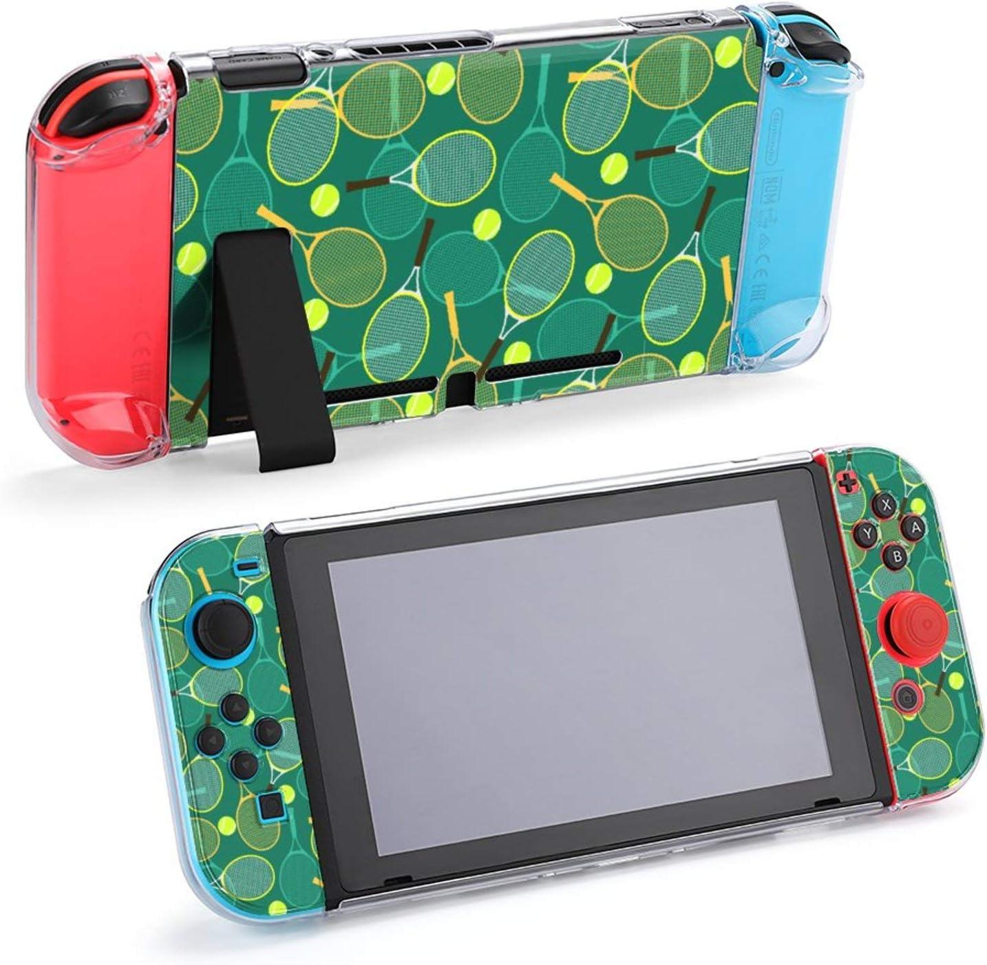 Accesorios Protectores para Raquetas y Pelotas de Tenis, Funda para Nintendo Switch, Funda acoplable para Consola Nintendo Switch