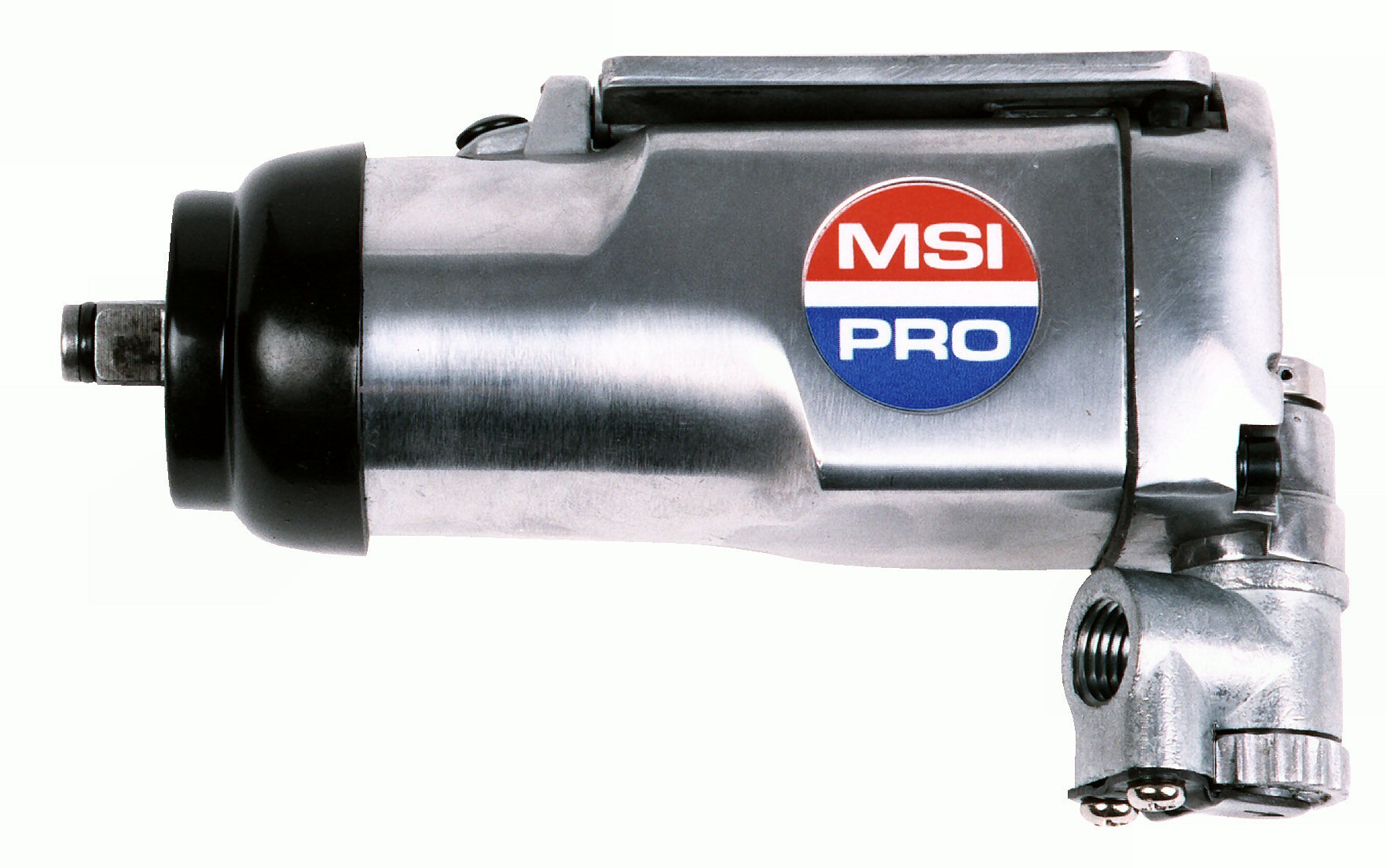 Air Power Impact Wrench - MSI PRO 3/8-inch Single Hammer Butterfly Impact Wrench - 75ft/lb Torque, 10,000rpm, 5.5''L