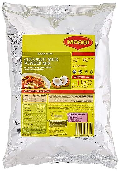 Maggi Mezcla de Leche de Coco en Polvo de Sri Lanka - Libre de Gluten, Colorantes Artificiales, ...