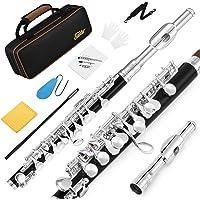 Silver Piccolo Flöte in Ottavino halbgroßen C Schlüssel