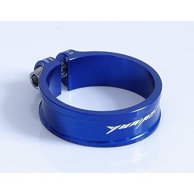 Yuniper Ultralight 9,1g Colliers de serrage 34,9mm Seat Post Clamp Bleu Blue.