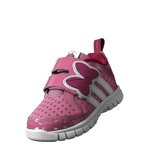 DISNEY MINNIE FLUID M M & CF I ROS Adidas-Scarpe prima infanzia ragazza, Rosa